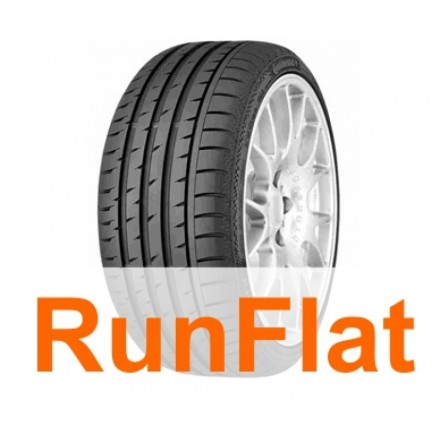 Anvelope Vara 205/45 R17 84V CONTINENTAL SPORT CONTACT 3 SSR *